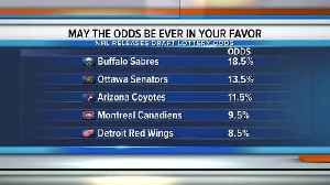 News video: Red Wings have fifth-best odds at landing No. 1 overall pick at NHL Draft lottery