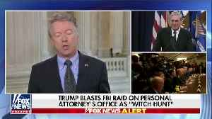 News video: Rand Paul Roasts Bob Mueller For Abusing His Authority, Calls Cohen Raid A 'Great Overstep'