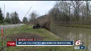 News video: New law could protect two Indy neighborhoods from flooding