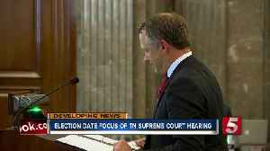 News video: Tennessee Supreme Court to Rule On Nashville Mayoral Election Date