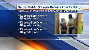 News video: Nation's school report card ranks Detroit schools as worst in the national