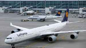 News video: Thousands stranded as public sector & ground staff strike hits German airports