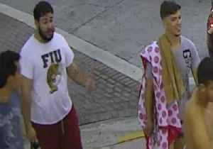 News video: Police Seek Suspects After Gay Couple Attacked on Day of Miami Pride Parade