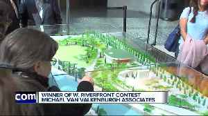News video: Winner of Detroit West Riverfront design competition announced