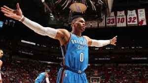 News video: Colin Cowherd congratulates Russell Westbrook on the OKC Thunder clinching a playoff spot