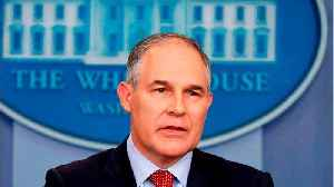 News video: EPA Administrator Scott Pruitt Has Met With Dozens Of Campaign Donors
