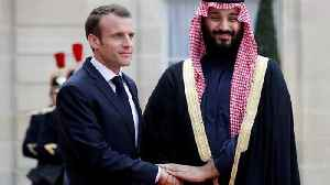 News video: France's Macron defends Saudi arms sales, to hold Yemen conference