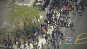 News video: Northwestern High Students Stage Peaceful Gun Violence Protest