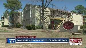 News video: Woman fights apartment for deposit back