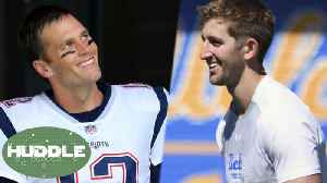 News video: Cocky Josh Rosen Says He Wants 7 Titles If Tom Brady WINS Another Super Bowl! | Huddle