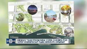 News video: New York design team picked to redevelop Detroit's West Riverfront Park