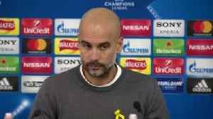 News video: Pep reveals why he was sent off