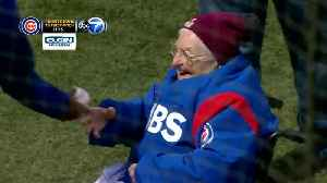 News video: Sister Jean throws out first pitch at Wrigley for Cubs opener