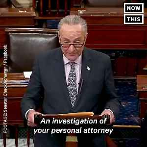 News video: Chuck Schumer Responds to Trump's 'Attack on Our Country' Comment