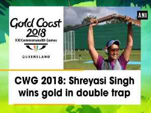 News video: CWG 2018: Shreyasi Singh wins gold in double trap