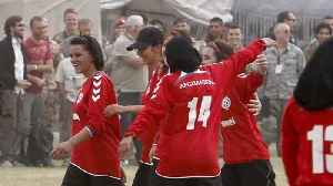 News video: Afghan pioneer of female soccer inspires Mexican street kids for their World Cup