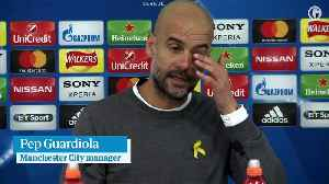 News video: Pep Guardiola says key refereeing decisions cost Manchester City – video