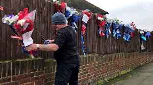 News video: Hither Green floral tributes torn down for fourth time – video report