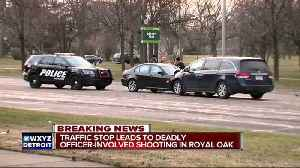 News video: Suspect killed in officer involved shooting involving Royal Oak police