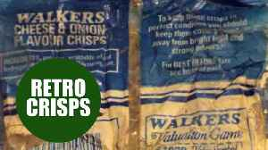 News video: Volunteers stunned after finding pack of Walkers crisps dating back 30 YEARS