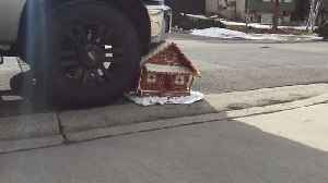 """News video: """"Man Crushes Gingerbread House with Truck"""""""