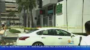 News video: Man Shot Outside Downtown Miami Whole Foods