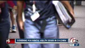 News video: When should you begin screening for mental health issues in children?
