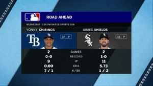 News video: Yonny Chirinos, James Shields square off in Rays-White Sox finale