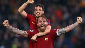 News video: Remarkable Roma knock out Barcelona as Liverpool hold off Manchester City