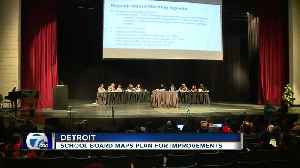 News video: Detroit school board maps plans for improvement after ranking worst in nation