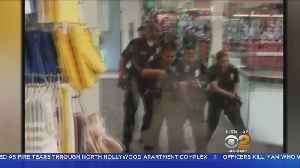 News video: Mall Remains Closed After Man Armed With Knife Shot By Police