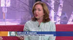 News video: Interview: Twin Cities Business' New Editor-In-Chief Allison Kaplan