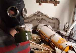 News video: Canister is Evidence of Chemical Attack in Douma, Activist Says
