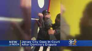 News video: Jersey City Police Officers In Court After Pizza Confrontation