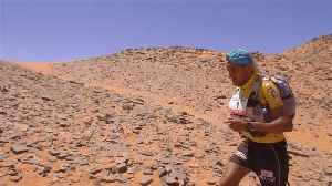 News video: Runners take on long stage in Marathon Des Sables