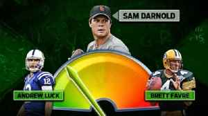 News video: Colin Cowherd unveils the high and low comparables for the top NFL QB prospects