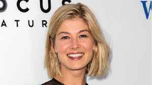 News video: Why Rosamund Pike Doesn't Think There Should Be a Female James Bond
