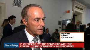 News video: Rep. Chris Collins 'Not Looking for Additional Regulation' of Big Tech