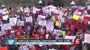 News video: Teacher Pension Fight Continues In Kentucky