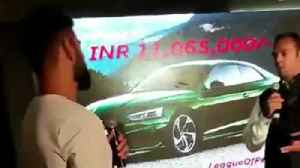 News video: Virat Kohli Launches Audi RS5 Coupe 2018 In India
