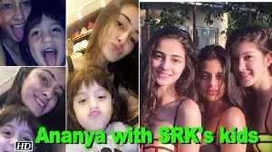 News video: Karan's 'student' Ananya finds company in SRK's son AbRam