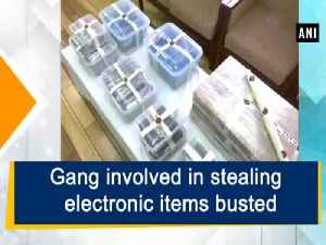 News video: Gang involved in stealing electronic items busted