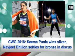 News video: CWG 2018: Seema Punia wins silver, Navjeet Dhillon settles for bronze in discus
