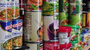 News video: Nanoparticles in canned goods may be doing your gut harm