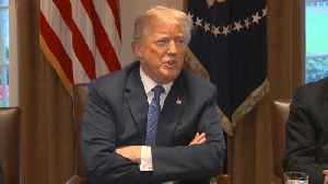 News video: Amid Russia tensions, Trump says timing of Syria strike is fluid