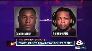 News video: Two men arrested in connection with 1-year-old's death