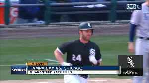 News video: Matt Davidson hits late home run, Chicago White Sox top Tampa Bay Rays 2-1 for 1st home win