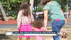 News video: Family returns to Puerto Rico after Hurricane Maria