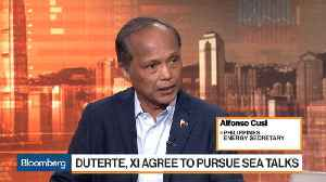 News video: Philippines Energy Secretary on Sea Exploration With China, Oil Prices, Energy