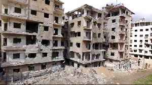 News video: Last rebel fighters pushed out of Syria's Douma
